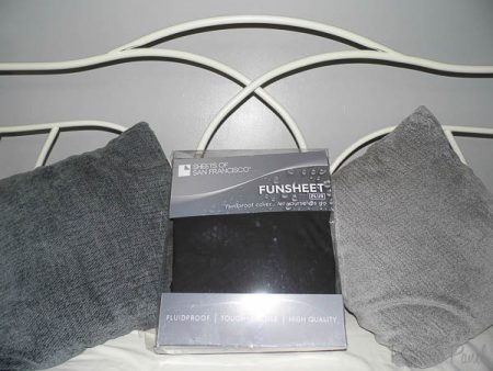Sheets of San Francisco Fluidproof Double Fitted Sheet Review