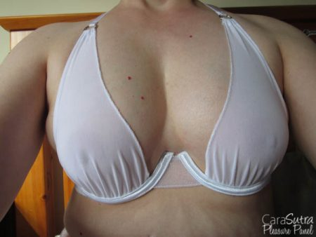 Bondara White Ruffled Bra and Panty Set Review