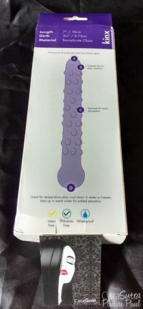 Kinx Dotted Ice Dual Teaser Clear Glass Dildo Review