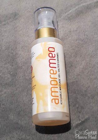 AMOREMEO Salted Caramel Massage Gel Review