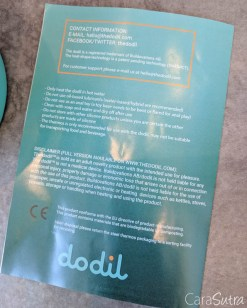 The Dodil Review Dodil Dildo Shapeable Mouldable Dildo TWO-8