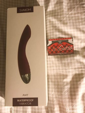 SVAKOM Amy Rechargeable G-Spot Vibrator Review