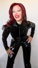 Vawn and Boon PVC Catsuit Review Cara Sutra-20