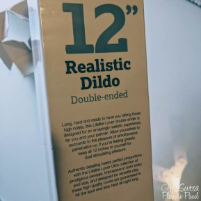 Lifelike Lover Ultra Realistic Double Ended Dildo 12 Inch Review-6