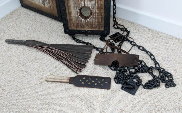 Lodbrock Handmade Wooden BDSM Pillory Set Review-136