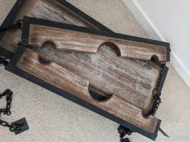 Lodbrock Handmade Wooden BDSM Pillory Set Review-27