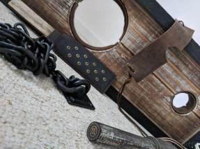 Lodbrock Handmade Wooden BDSM Pillory Set Review-34
