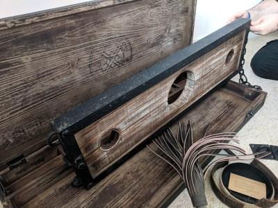 Lodbrock Handmade Wooden BDSM Pillory Set Review-7