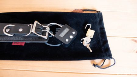 MEO Lockable Leather Bondage Collar With Time Lock Review