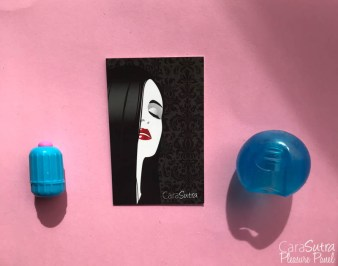 Rock Candy Blue Gummy Ball Waterproof Finger Vibrator Review-5