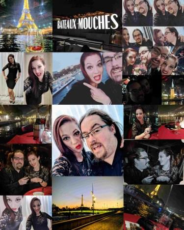 Paris Saturday Night Collage
