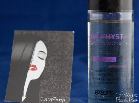 EXSENS Crystal Amethyst Sweet Almond Massage Oil Review