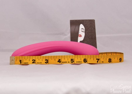 Lovehoney Satisfy Me G-Spot Silicone Dildo Review