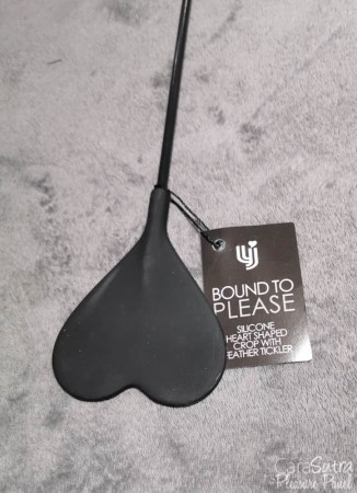 Loving Joy Bound to Please Heart Shaped Crop with Feather Tickler Review