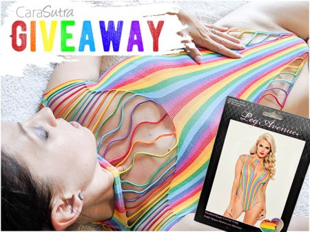 Leg Avenue Rainbow Body Lingerie Giveaway