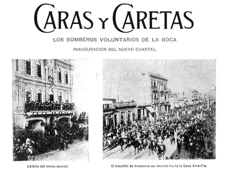 Dia Nacional Del Bombero Voluntario Caras Y Caretas