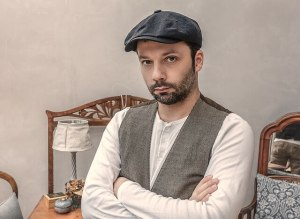 帽子が似合う男性の画像