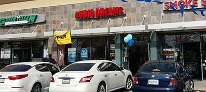 visit our office or contact us - Audio Dreams
