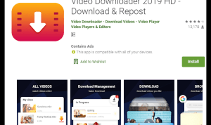 Aplikasi Download Bokeh Video full apk 2019 di Play Store
