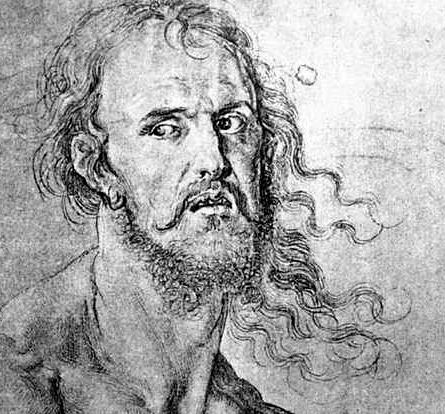 Image result for durer and the sad man