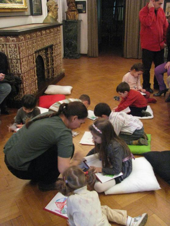 Ecologia pe intelesul copiilor, atelier Muzeul Hartilor (01)