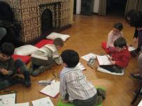 Ecologia pe intelesul copiilor, atelier Muzeul Hartilor (04)