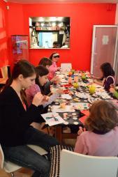 Atelier copii Martisoare Global Mindscape la Anaid Art Gallery 1
