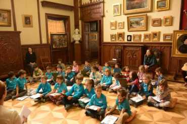 Ora de scoala la Muzeul Theodor Aman Bucuresti