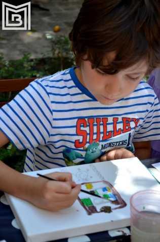 23-Eveniment copii Th. Aman-Caravana muzeelor-Paul Ionescu