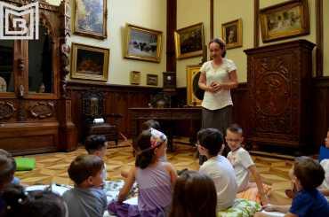 9-Eveniment copii Th. Aman-Caravana muzeelor-Paul Ionescu