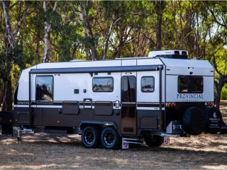 Off road senator a darling debut for melbourne city caravans' new provincial brand