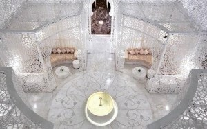 The Royal Mansour Spa at the luxury hotel Royal Mansour Marrakech Morocco caravane beauty