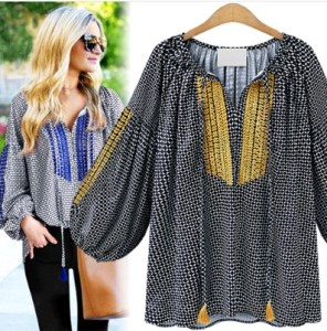 2017 New Spring 5XL 4XL 3XL Plus size Women Shirt Fashion Looose V neck Batwing sleeve Plaid Big Tops Ladies Blouses