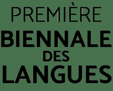 Biennale des Langues - Logo sans fond