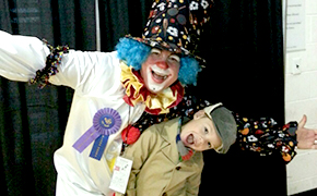Michael Churchill Clowns Around
