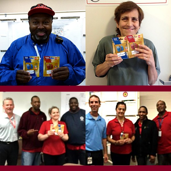 July 2015 CFM Safety Incentive Program Winners