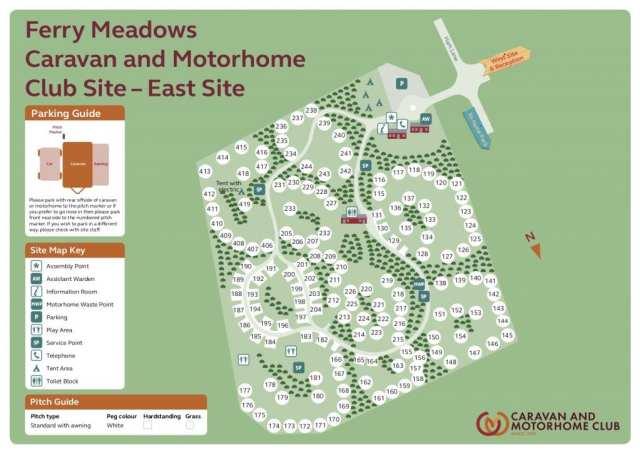 Ferry Meadows East Side