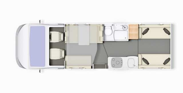 Autoquest 196 Floorplan