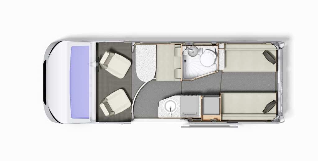 Autoquest CV40 Floor-plan