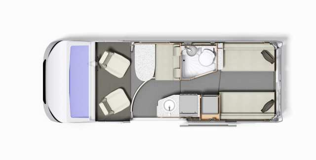 Autoquest CV40 Floor-plan