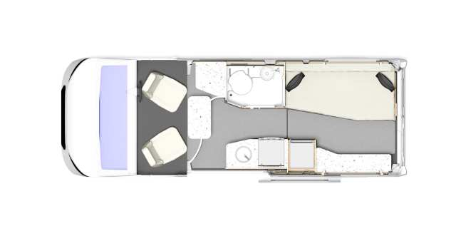 Autoquest CV60 Floor-plan