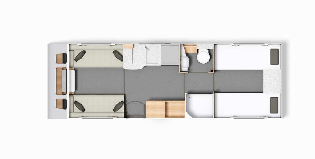 Buccaneer Clipper - FloorPlan