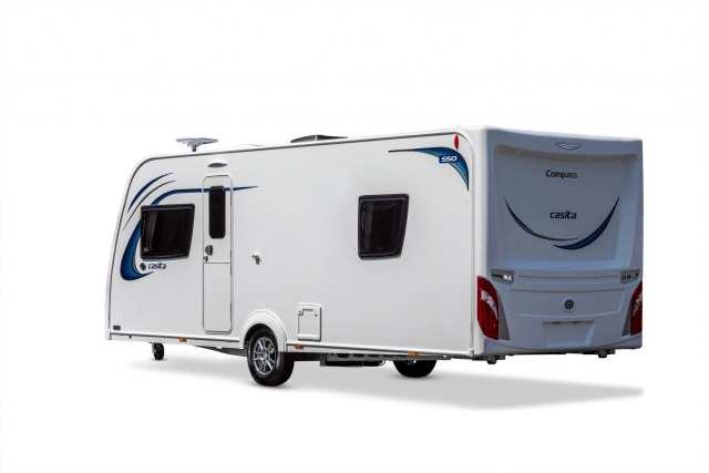 Casita 550 Rear