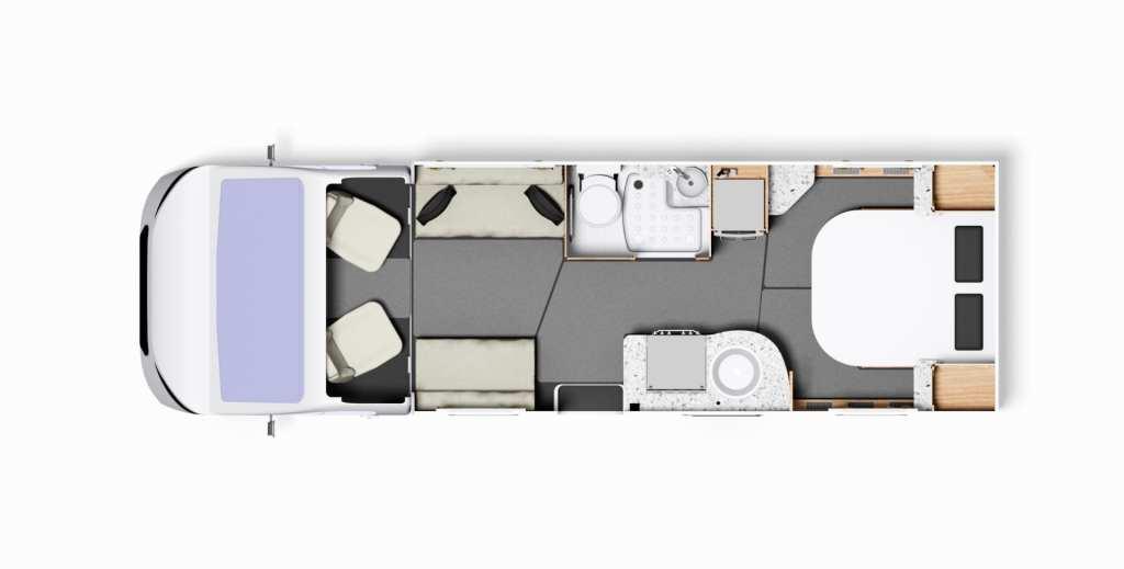 Encore 250 Floorplan
