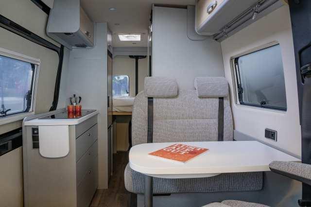 Free S 600 interior view
