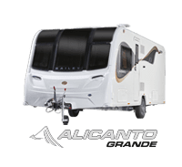 Bailey Alicanto Grande a NEW 2020 Bailey Caravan