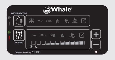 Whale Duo Control Panel