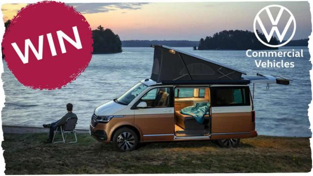 WIN a luxury campervan