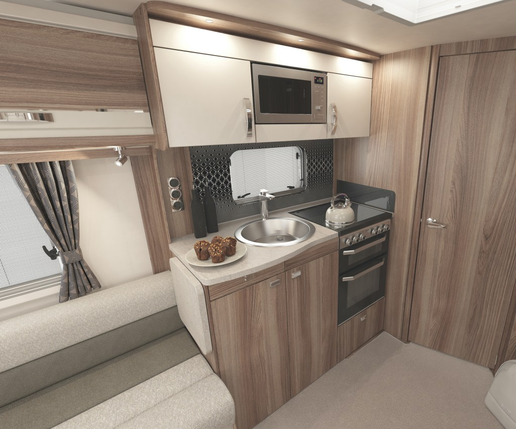 Swift Challenger 650 Kitchen