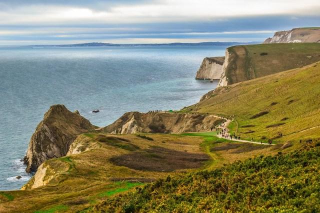 UK's Seven Natural Wonders. Jurassic Coast, Dorset